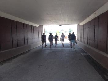 Tunneltje in Cuijk