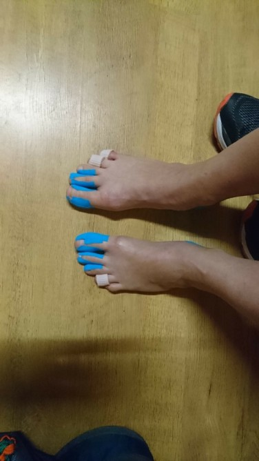 Geprepareerde voeten