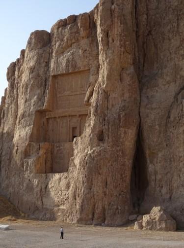Koningsgraf bij Naqsh-e Rustam